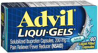 ADVIL LIQGEL 200MG 40