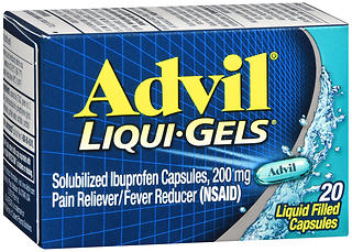 ADVIL LIQGEL 200MG 20