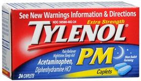 TYLENOL P.M. CAP X/STR 24