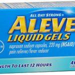 ALEVE LIQUID GEL 40