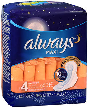 ALWAYS MAXI OV/NT+WING 14 CS12