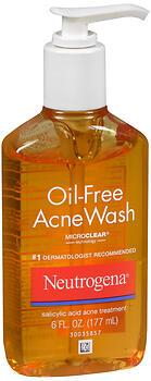 NEUT ACNE WASH OIL FREE    6OZ