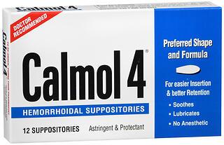 CALMOL-4 HEMORRH SUPP       12