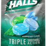HALLS S/F ASST MINT  BAG25