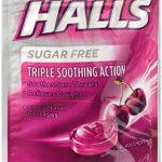 HALLS S/F BLK-CHERRY     BAG25