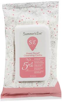 SUMMERS EVE FEM CLOTH S/FLR 32