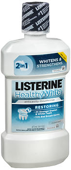 LISTERINE M/W RSTR CL MT 473ML