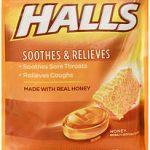 HALLS C/DROP HONEY BAG30