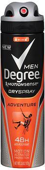 DEGREE  A/P SPRY MEN ADV 3.8Z