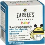 ZARBEES BBY CHEST RUB LOT 1.5Z