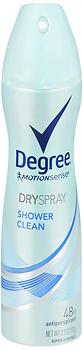 DEGREE WMN SHOWER CLEAN 3.8Z