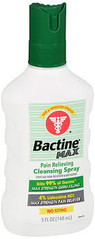 BACTINE MAX PAIN REL SPRAY 5OZ