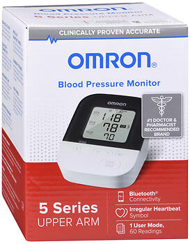 BLOOD PR MONIT BT OMR BP7250