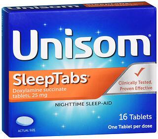 UNISOM SLEEP AID TAB        16