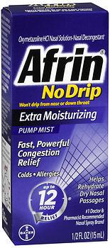 AFRIN NO DRIP X/MOIST SPR 15ML