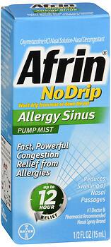 AFRIN NO DRIP SINUS+VAPOR 15ML
