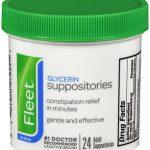 FLEET GLYCERIN SUPP ADL 24