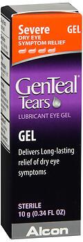 GENTEAL TEARS SVRE EYE GEL10ML