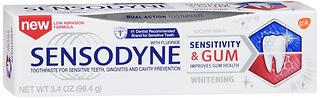 SENSODYNE T/P SEN+GUM WHT 3.4Z