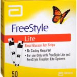 FREESTYLE LITE TEST STRIPS  50