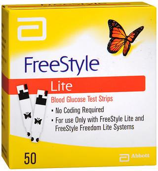 FREESTYLE LITE TEST STRIPS  50