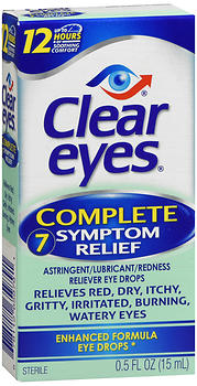 CLEAR EYES COMP/SYM REL  0.5OZ