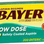 BAYER ASP REGIM TAB 81MG   200