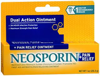 NEOSPORIN+ OINT MAX/STR    1OZ