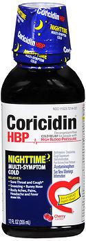 CORICIDIN HBP NT MULT-SYM 12OZ