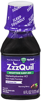 ZZZQUIL NIGHT SLEEP AID 6OZ