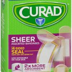 CURAD BAND SHEER ASST REG   80