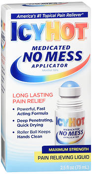 ICY HOT NO MESS APPLIC   2.5OZ
