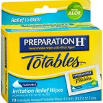 PREP H TOTABL WIPES  10