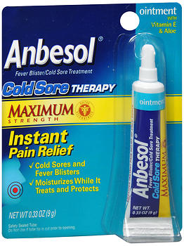 ANBESOL COLD SORE THER  0.25OZ