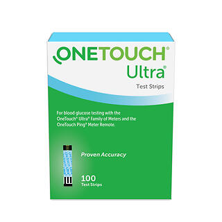 ONETOUCH ULTRA TEST STRIP 100