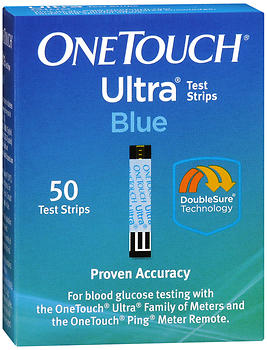 ONETOUCH ULTRA TEST STRIP  50