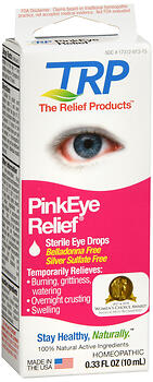 PINK EYE RELIEF DROPS 0.33OZ