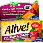 ALIVE WMN'S 50+ TAB      50