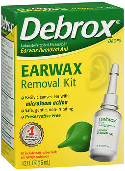 DEBROX DROPS KIT         0.5OZ