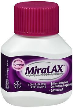 MIRALAX PWD 7DOSES       4.1OZ