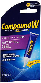 COMPOUND W GEL .25OZ