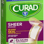 CURAD ADH BAND SHEER 3/4X3  80