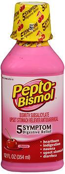 PEPTO-BISMOL LIQ CHERRY   12OZ
