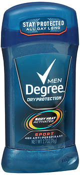 DEGREE A/P I/S SPORT MEN 2.7OZ