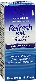 REFRESH P.M. EYE LUBE 3.5 GM