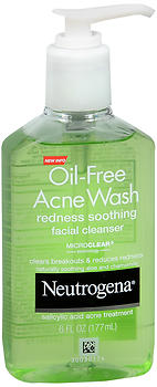 NEUT ACNE WASH REDNS CLNSR 6OZ