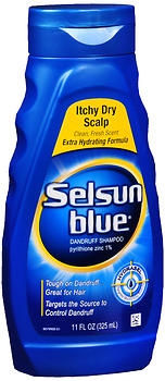 SELSUN BLUE SH ITCHY DRY SC11Z
