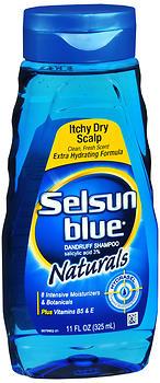 SELSUN BLUE SH NAT ITC DR 11Z