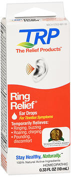 RING RELIEF HOMEO EAR DRP.33Z