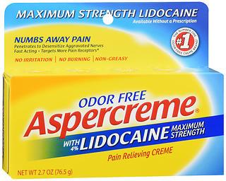 ASPERCREME W/LIDOC 2.7OZ
